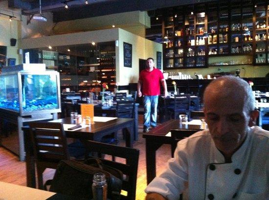 Trattoria Kuningan Jakarta: Chef executive in restaurant