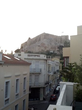 AVA Hotel Athens: Acropolis from the balcony
