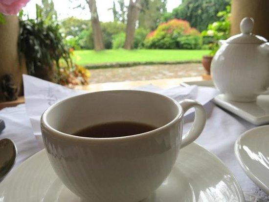Huntingdon House : Tea on the veranda