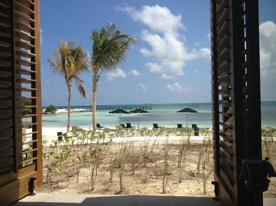 NIZUC Resort and Spa: table view during lunch at Ni Restaurant.