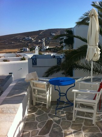 Folegandros Apartments: view from our room