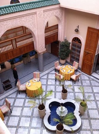 Riad Andalib : patio