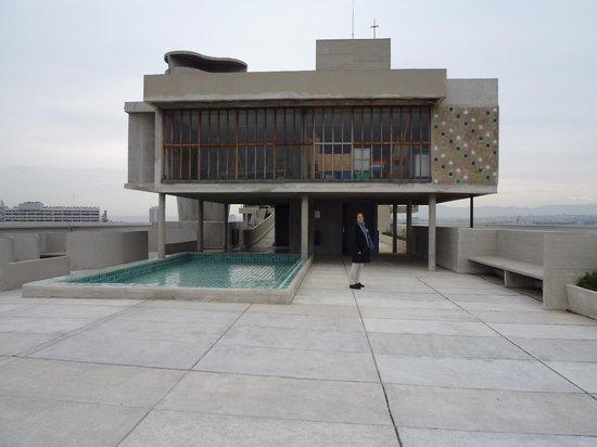 Hotel le Corbusier : (5)建物屋上