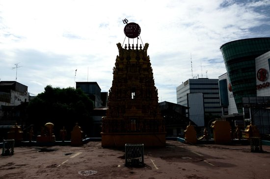 Shri Mariamman Temple: view from roof