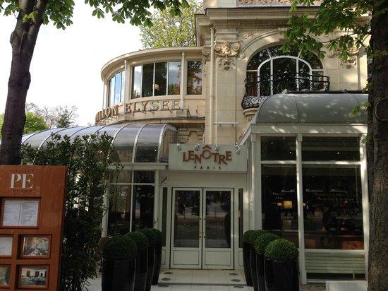 Le Cafe Lenotre : 外観