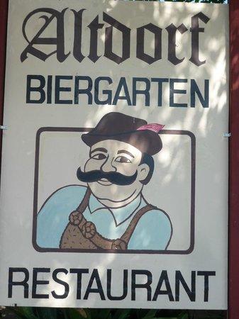 Altdorf German Biergarten and Restaurant: Altdorf Biergarten