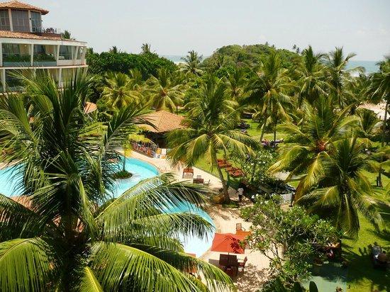 Eden Resort & Spa: alle Zimmer mit Blick auf Pool und Strand