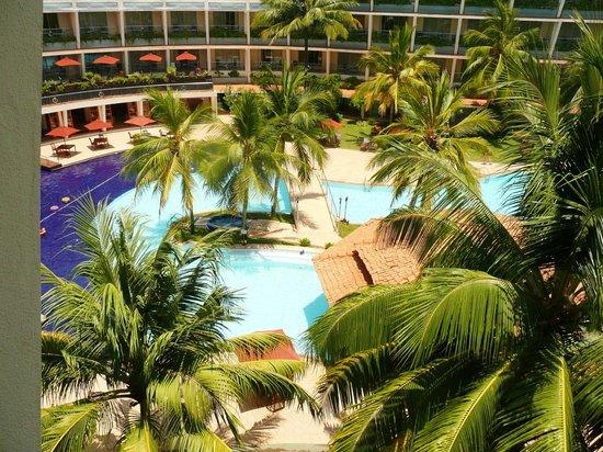 Eden Resort & Spa: alle Zimmer haben Blick auf Pool und Strand
