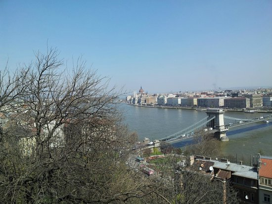 Segway Tours Budapest : Nice view from the castle conquered with Segway!!
