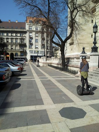 Segway Tours Budapest : still trying to get ahead!!!!