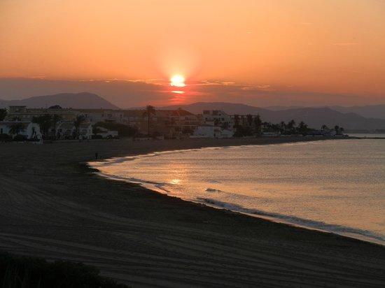 Noguera Mar Hotel: Preciosa puesta de sol desde la habitación