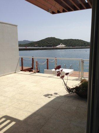 The Doria Hotel: Odadan görüntü