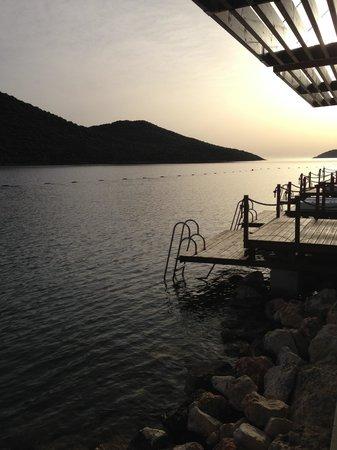 Doria Hotel Yacht Club Kas: iskele manzarası