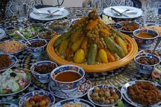 Foutour & Sarir Riad: food
