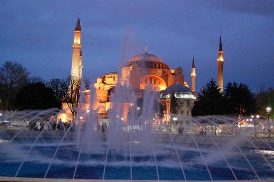 Sultanahmet District: la fontana