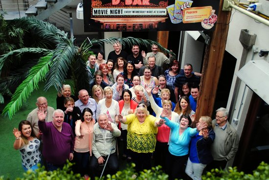 Treacy's Hotel: Our group picture