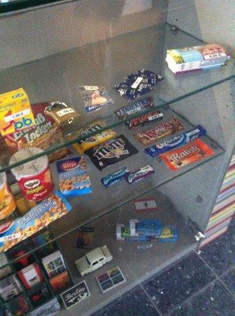 Industriepalast: Snackverkauf