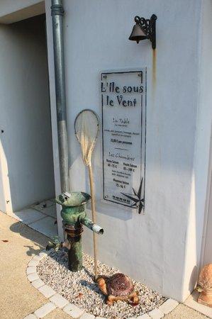 L'ile Sous Le Vent - L'Hotel - La Table : RECEPTION