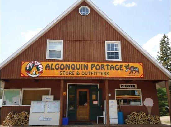 Algonquin portage store outfitters updated 2016 lodge for Ontario drive in fishing lodges