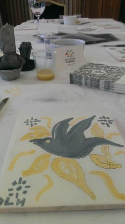 BomDia Lisboa : Make your own Azulejo