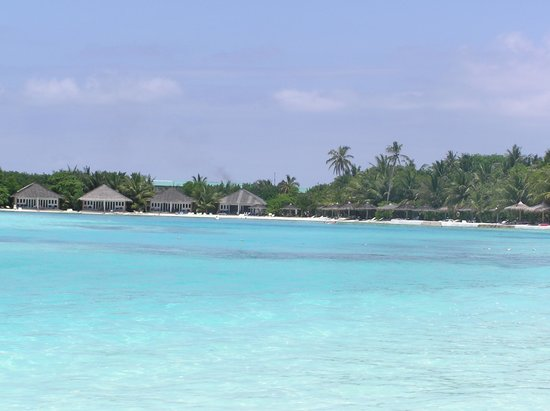 Cinnamon Dhonveli Maldives: part of beach area Chaaya Dhonveli