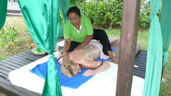 Khaolak Orchid Beach Resort: massage
