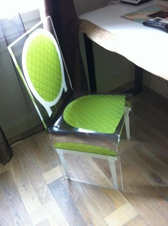 Hotel Palacito: cool chair