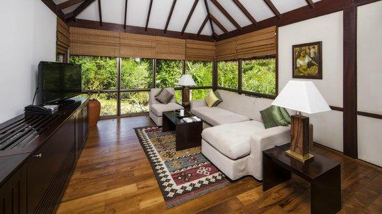 Uga Ulagalla: Chalet living Area