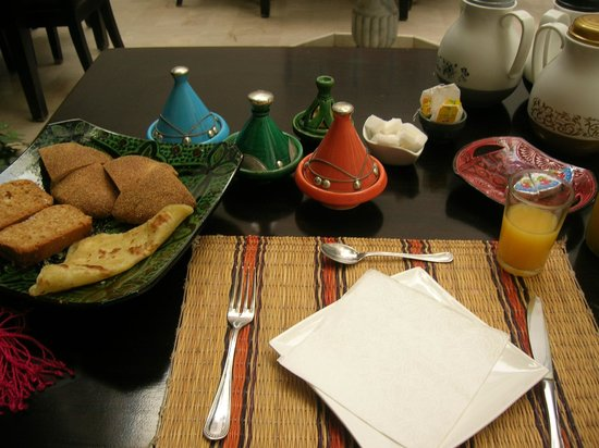 Riad Magie D'Orient : Petit déjeuner