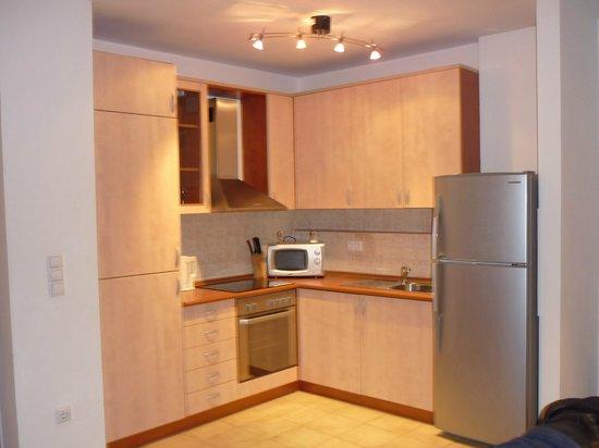 O Street Apartments: Kitchen