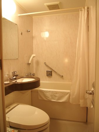 Hotel Sunroute Gotanda : 風呂場