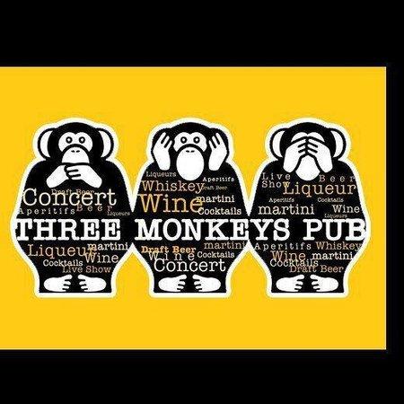 Three Monkeys Pub : three monkys pub