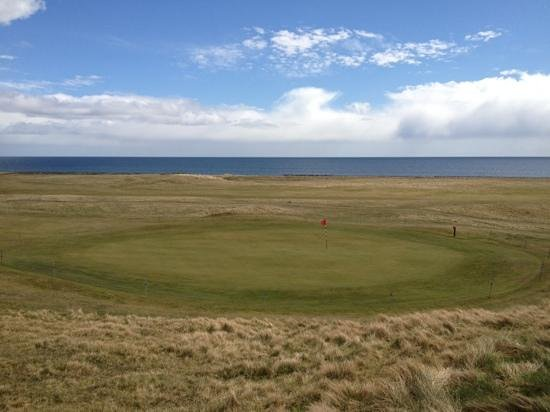 Brora Golf Course: brora - a view to the firth