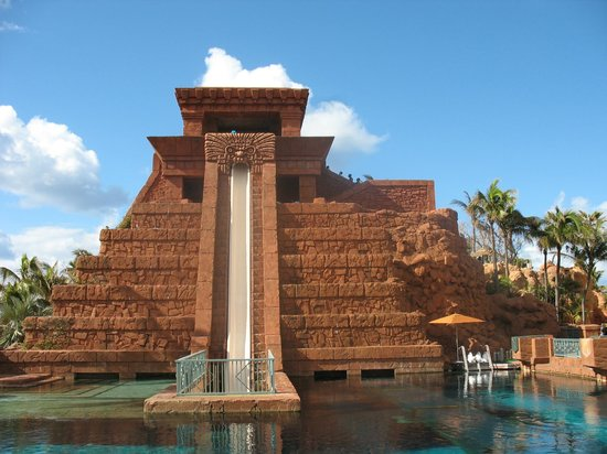Atlantis, Royal Towers, Autograph Collection: Atlantis Bahamas - Mayan temple leap of faith