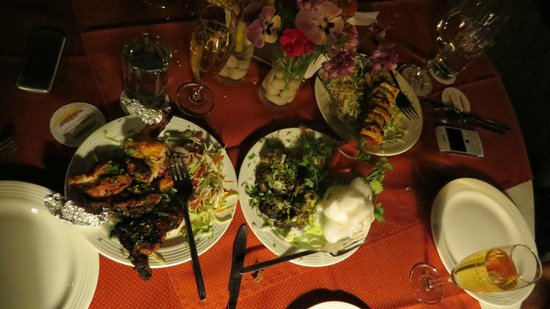 Ilbert Manor: Delicious cuisine