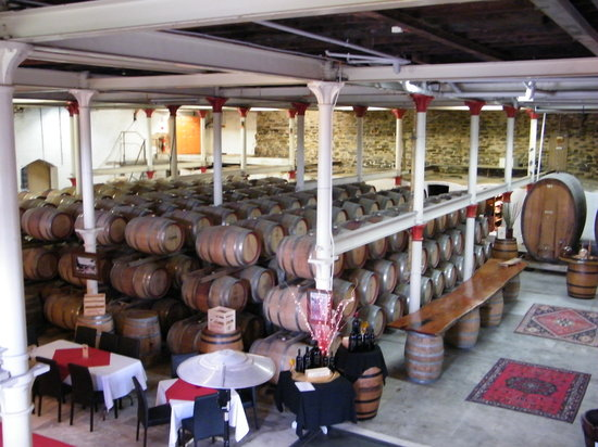 Chateau Tanunda: cellar view