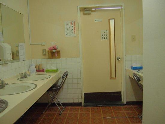 Asakusa Hotel Waso : 洗面所 奥がトイレになります