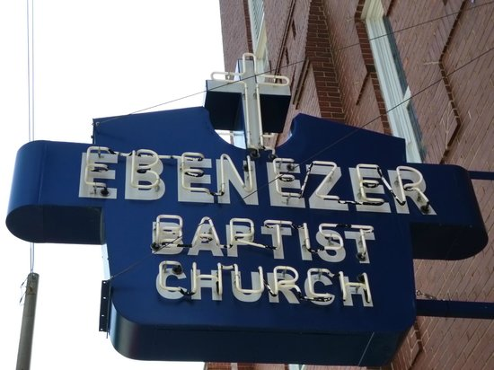 Ebenezer Baptist Church of Atlanta: April 2013