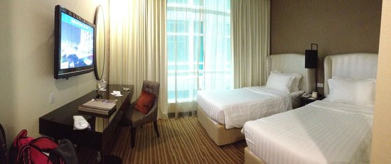 Hatten Hotel Melaka: Twin bedroom area