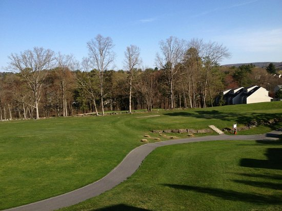 Villas at Tree Tops and Fairway: View from the Balcony