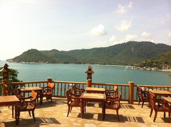 Santhiya Koh Phangan Resort & Spa: view at breakfast