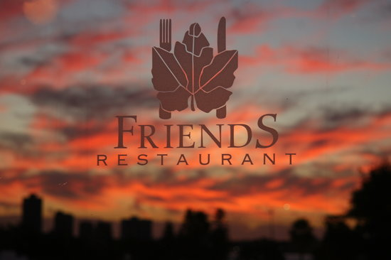 Friends Restaurant: Sunset @ Friends