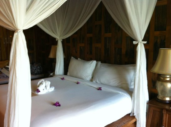 Santhiya Koh Phangan Resort & Spa: The finishing touches made it even more special