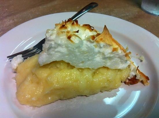 Southside Cafe: Divine homemade coconut pie