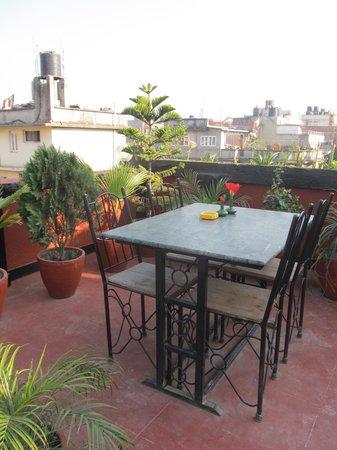 Hotel Kathmandu Terrace: Rooftop terrace