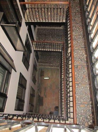 Hotel Kathmandu Terrace: Staircase throughout the hotel