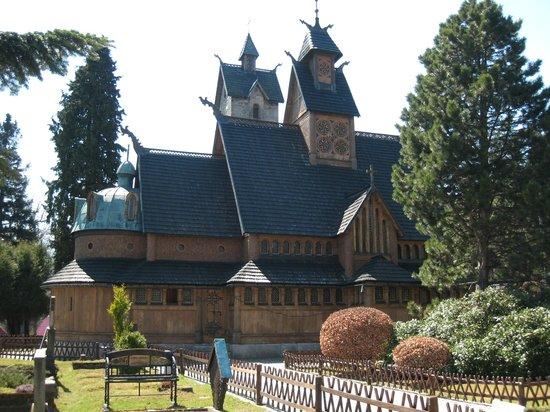 Wang Church: Iglesia Wang. Karpacz, Polonia