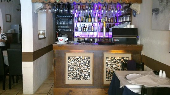 The Stone Crab: entrance into the restaurant