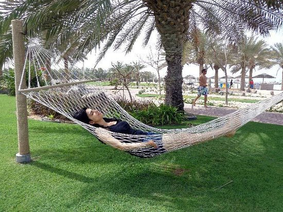 Danat Jebel Dhanna Resort: Lazy Days