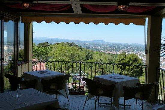 Gabicce Monte, Italy: dalla deliziosa veranda
